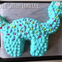 Gâteau pop le dinosaure