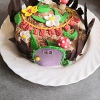 Gâteau d'anniversaire thème Enchantimals