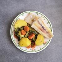 Curry de cabillaud aux légumes