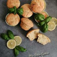 Petits muffins citron et basilic