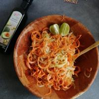 Salade coréenne concombre/carotte