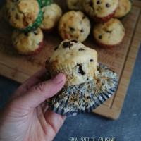 Muffins moelleux aux petites de chocolat