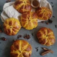 Brioches citrouilles au potimarron